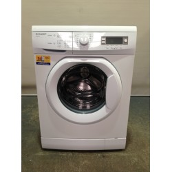 Sharp Front Load Washer 8 KG